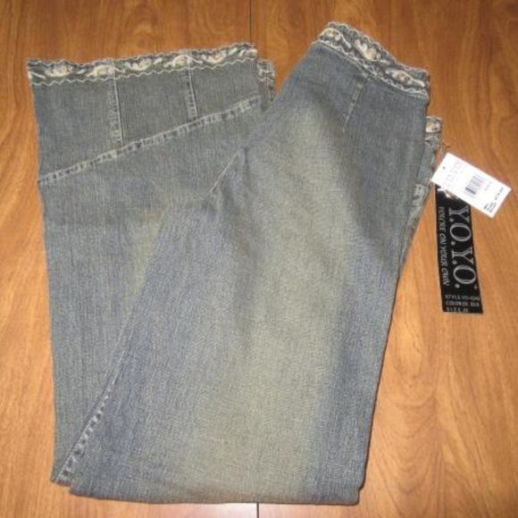 Y O Y O  You're on Your Own 11 Wide Leg Jeans NWT NWT